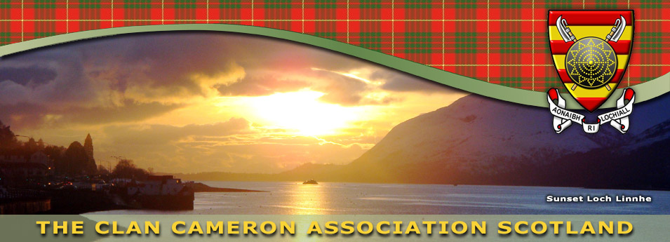 Clan Cameron Association Newsletters