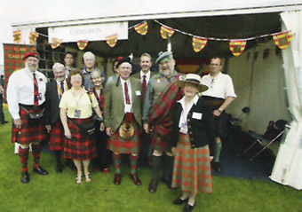 Clan Cameron Tent, The Gathering 2009 (By Scottish Field)